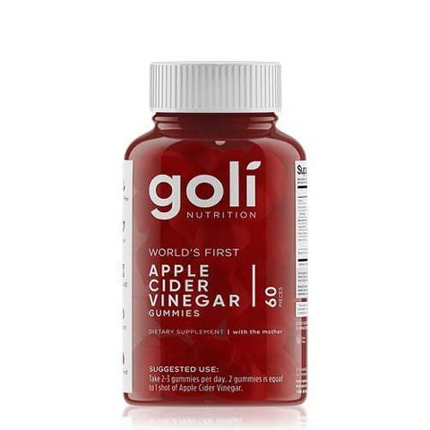 Apple Cider Vinegar Gummies | 60 Pieces | Goli Nutrition