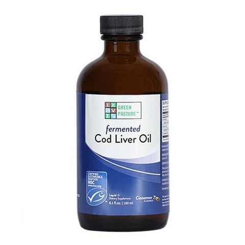 Blue Ice™ Fermented Cod Liver Oil (Cinnamon Tingle) | Green Pasture | 237ml - Oceans Alive Health
