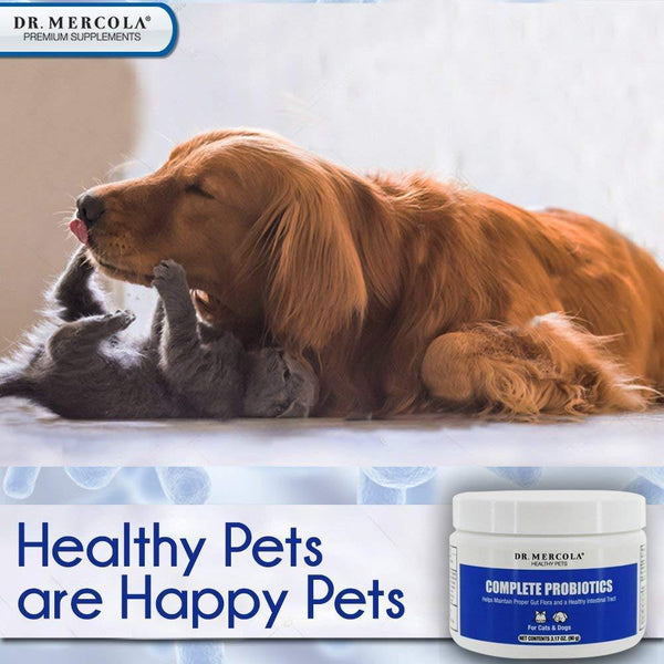 Complete Probiotics for Pets | Dr Mercola  | 90g - Oceans Alive Health
