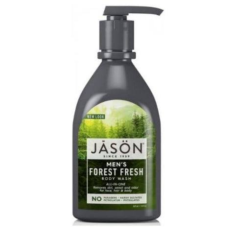 "ALL-IN-ONE Men's Body Wash Pump ""Forest Fresh"" 