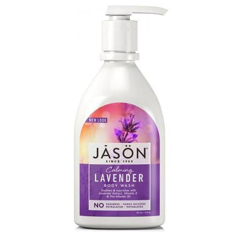 Calming Lavender Body Wash | Jason | 887ml - Oceans Alive Health