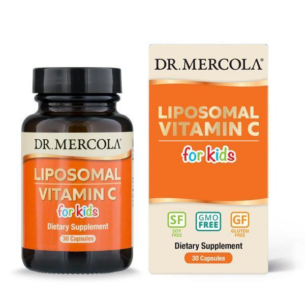 Liposomal Vitamin C for Kids info | Dr Mercola
