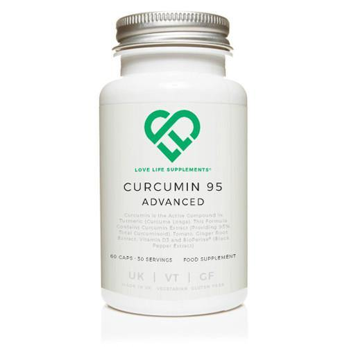 Curcumin 95 Advanced | Love Life Supplements | 60 Capsules