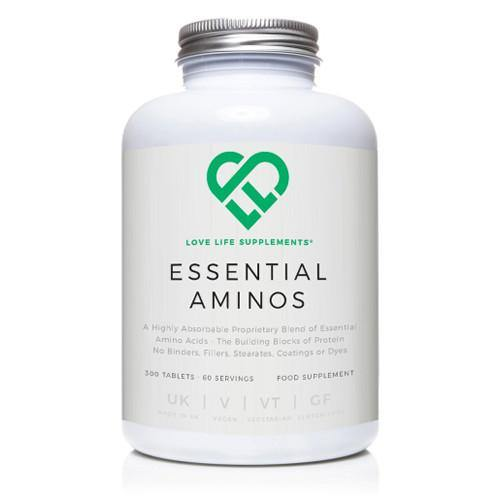 Essential Amino Acids | Love Life Supplements | 300 Tablets - Oceans Alive Health