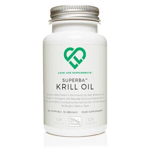 Krill Oil | Love Life Supplements | 60 Softgels