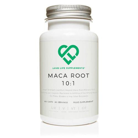 Maca Root 10:1 Extract | Love Life Supplements | 60 Capsules - Oceans Alive Health