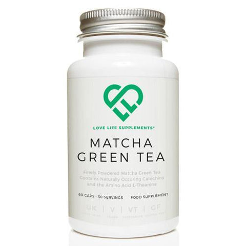 Matcha Green Tea | Love Life Supplements | 60 Capsules