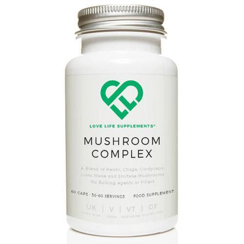 Mushroom Complex | Love Life Supplements | 30 Capsules - Oceans Alive Health