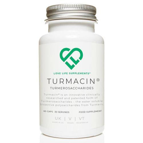 Turmacin Turmerosaccharides | Love Life Supplements | 60 Capsules - Oceans Alive Health