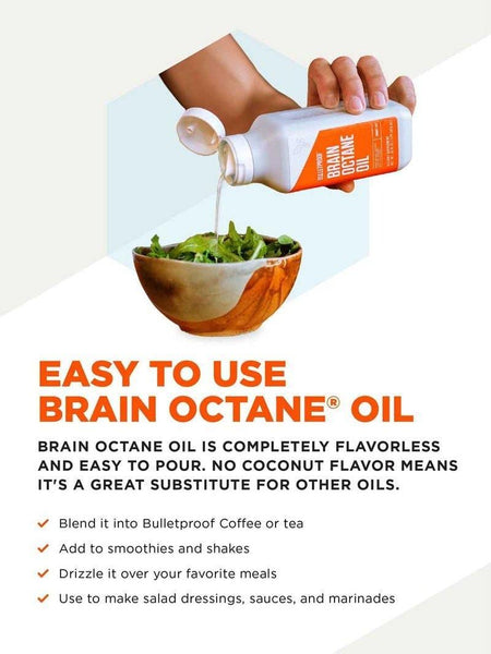 Brain Octane Oil | Bulletproof | 946ml (32 oz.)