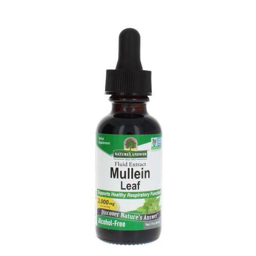Mullein Leaf | Nature's Answer | 30ml - Oceans Alive Health