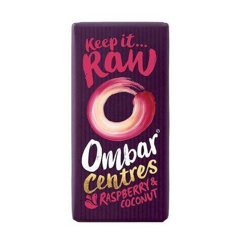 Ombar Organic Raw Chocolate | Raspberry & Coconut | 35g