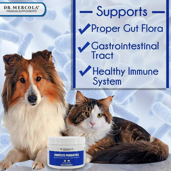 Complete Probiotics for Pets Information