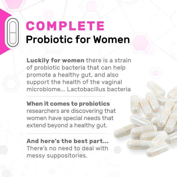 Complete Probiotics for Women information