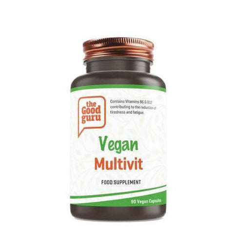 Vegan Multivitamin | The Good Guru | 90 Vegan Capsules - Oceans Alive Health
