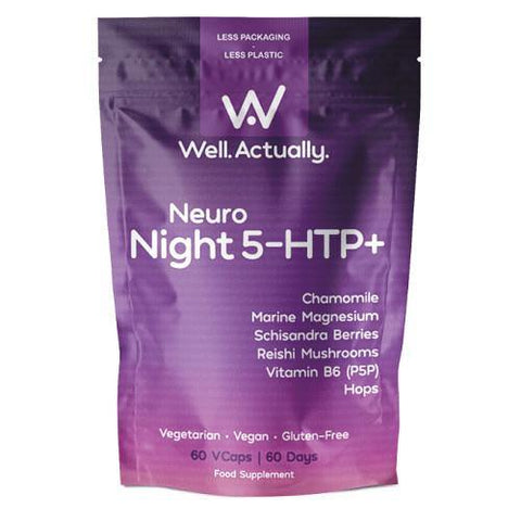 Neuro Night 5-HTP+ | Well.Actually. | 60 Tablets - Oceans Alive Health