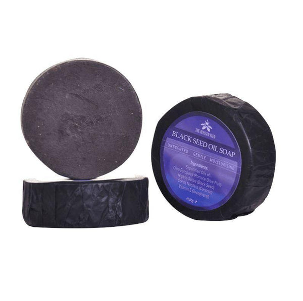 Black Seed Soap & Shampoo Bar | The Blessed Seed | 80g - Oceans Alive Health