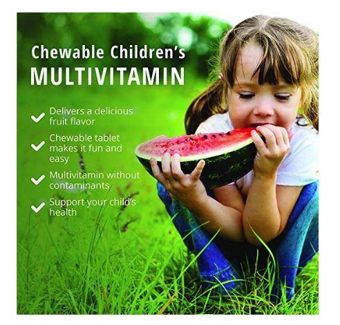 Chewable Multivitamins for Kids (Orange) | Dr Mercola | 60 Tablets info