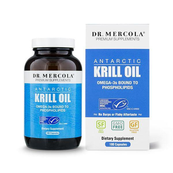 Krill Oil - Dr Mercola - 180 Caps
