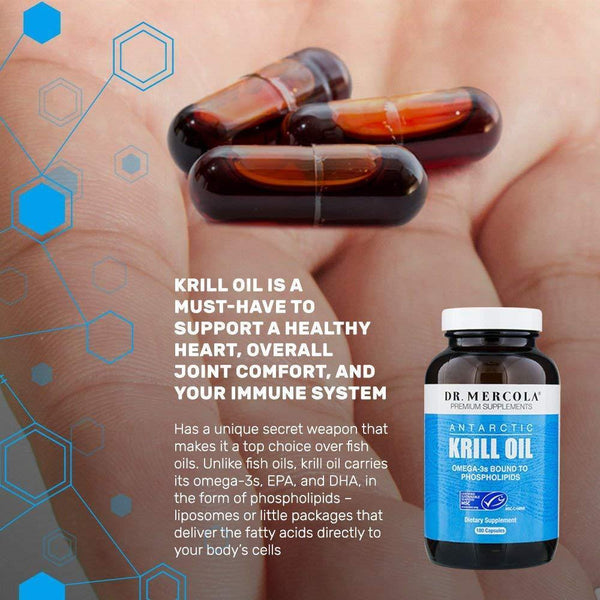Krill Oil info - Dr Mercola