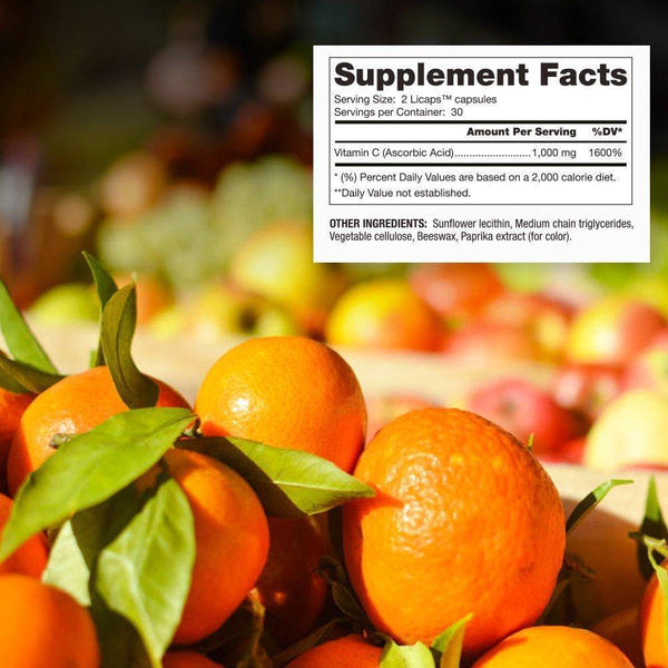 Liposomal Vitamin C Supplement Facts - Dr Mercola