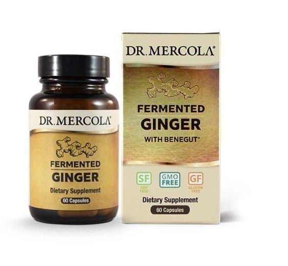 Fermented Ginger | Dr Mercola | 60 Capsules - Oceans Alive Health