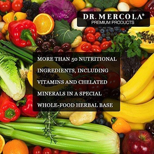 Wholefood Multivitamin Plus information - Dr Mercola