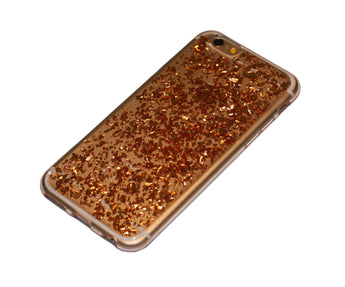 handyhülle iphone 6 flakes case gold rosegold