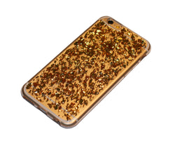 handyhülle iphone 6 flakes case gold