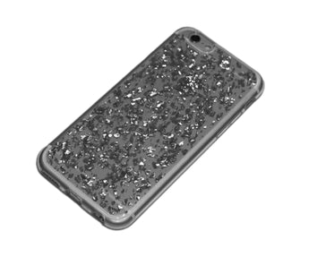 handyhülle iphone 6 flakes case silber