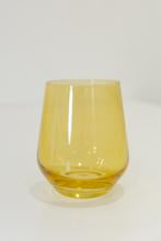 Load image into Gallery viewer, Estelle Colored Glass Stemless Set/2