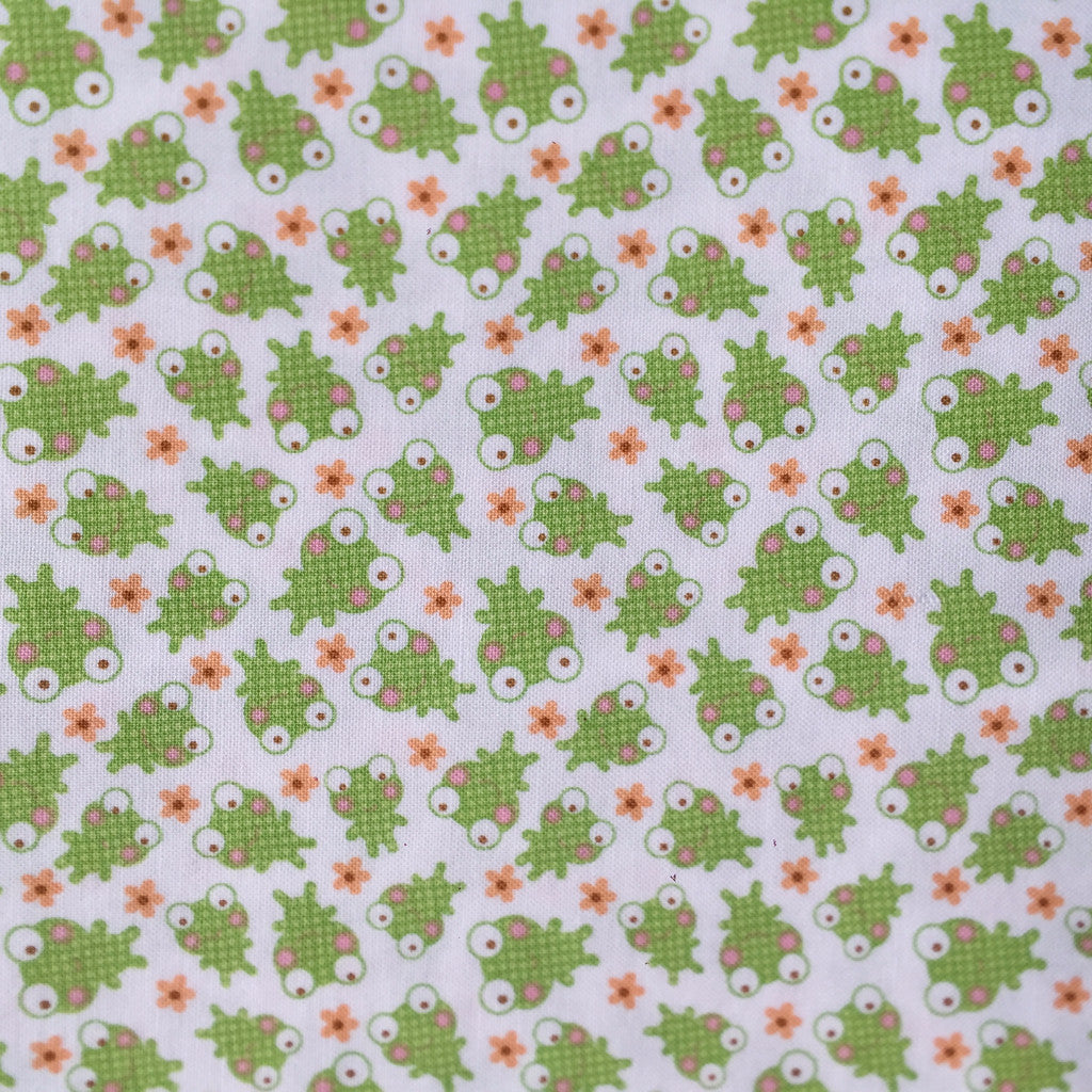 Froggy Fun fabric