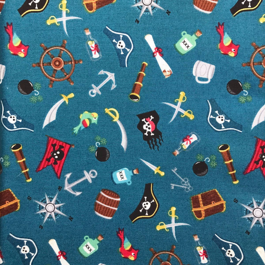 Treasure Ahoy fabric