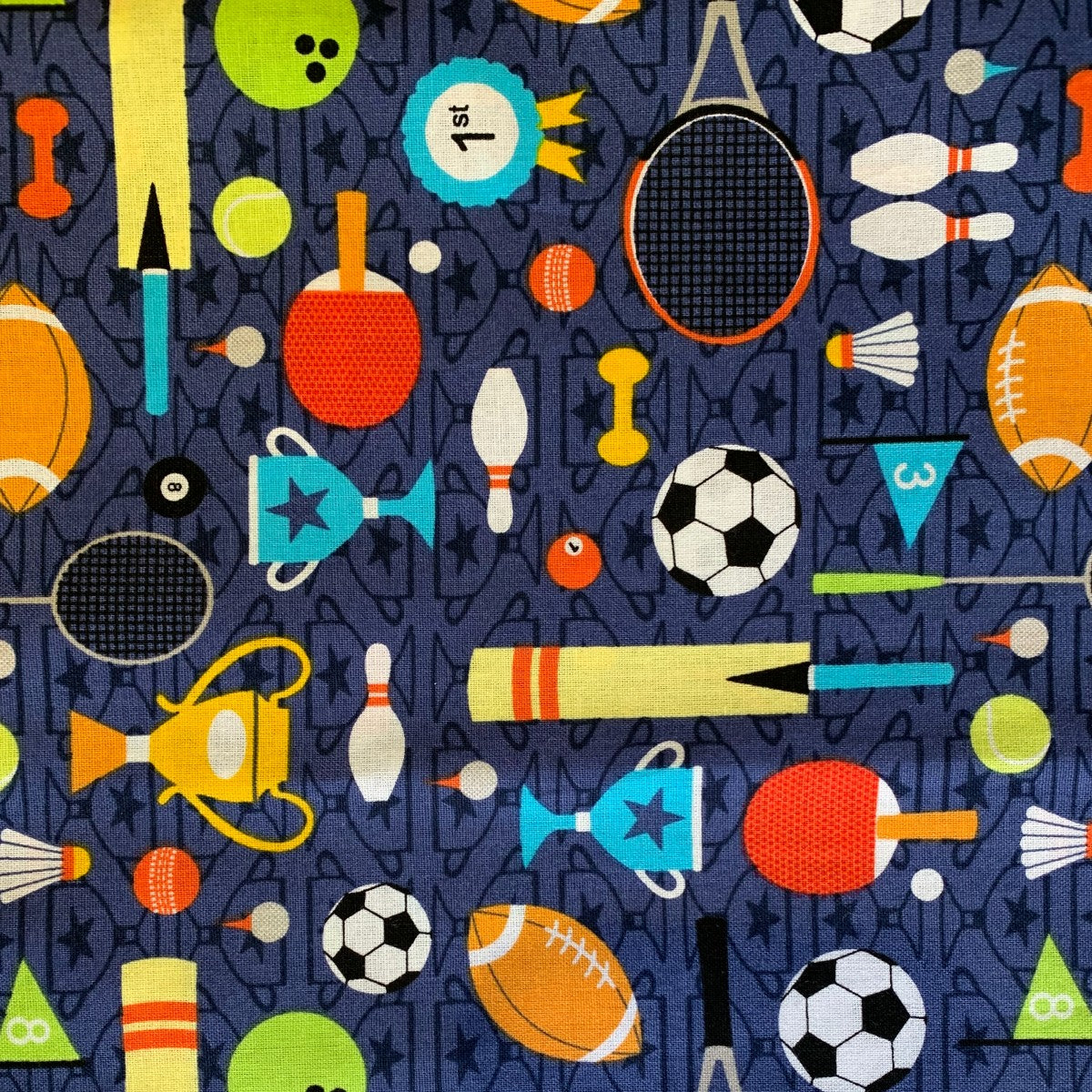 Sports Day fabric