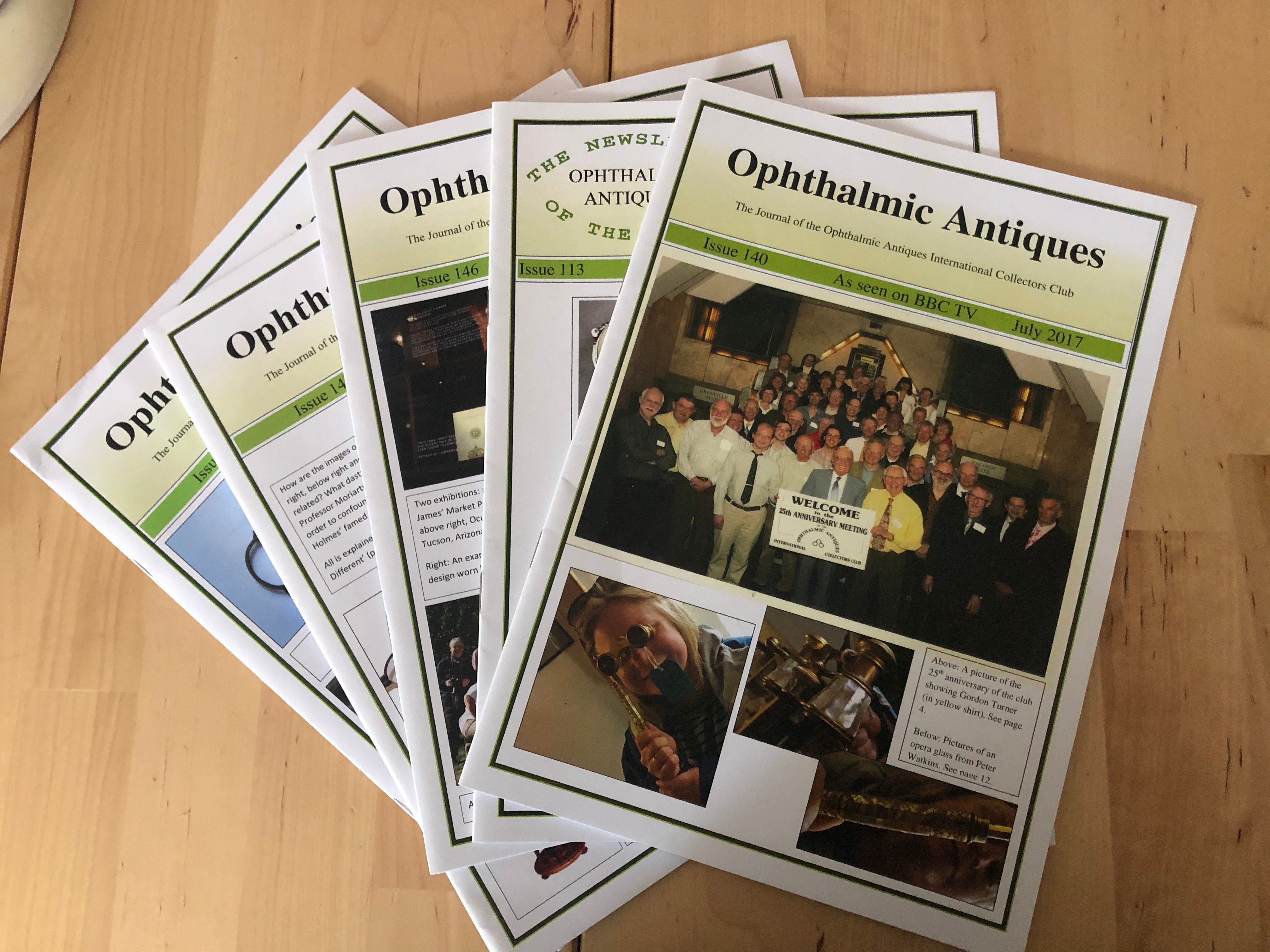 Opthalmic Antiques Magazine