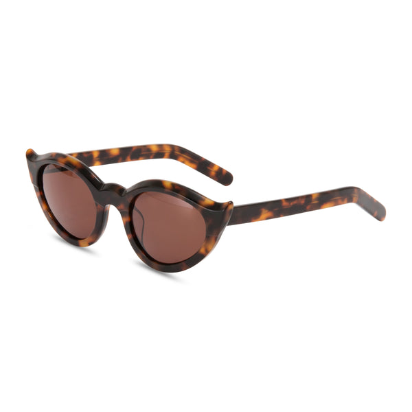 Frida Kahlo Tortoiseshell sunglasses side
