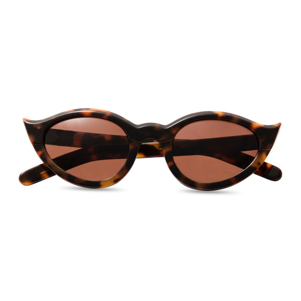 Frida Kahlo Tortoiseshell sunglasses folded