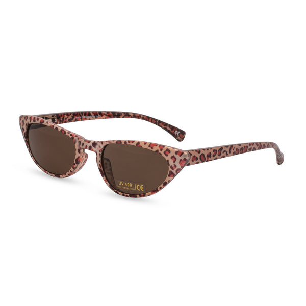 Peggy bronze leopard sunglasses side