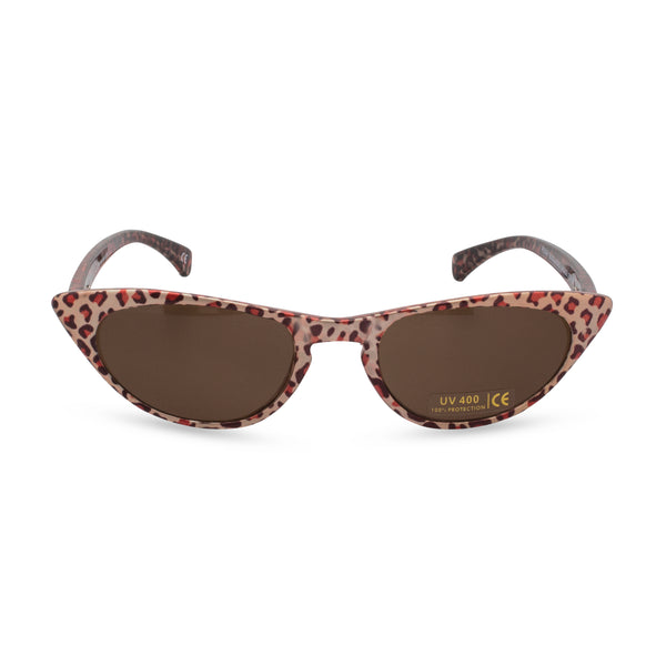 Peggy Cat Eye Sunglasses - Bronze Leopard