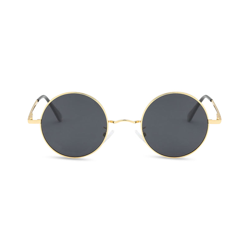 Gripweed Round Sunglasses - Gold