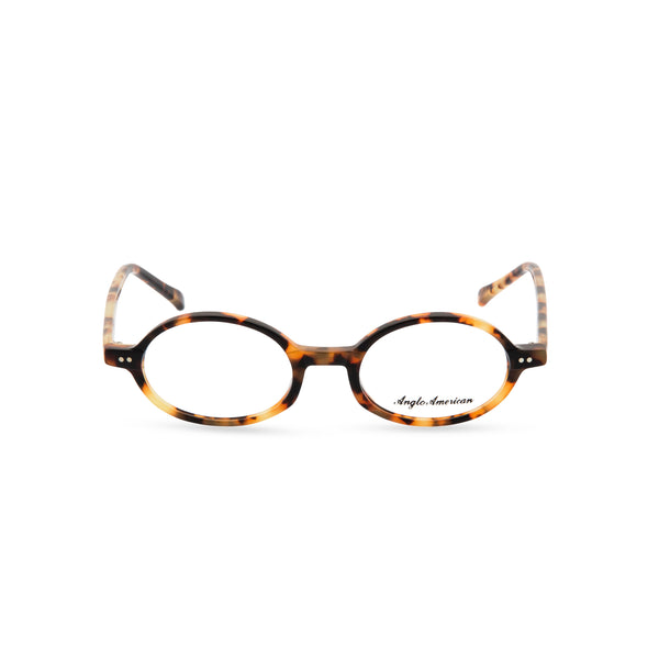 Anglo American Optical '401' - Oval Glasses, Classic Tortoishell