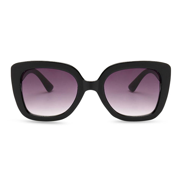 Samantha Square Sunglasses - Black