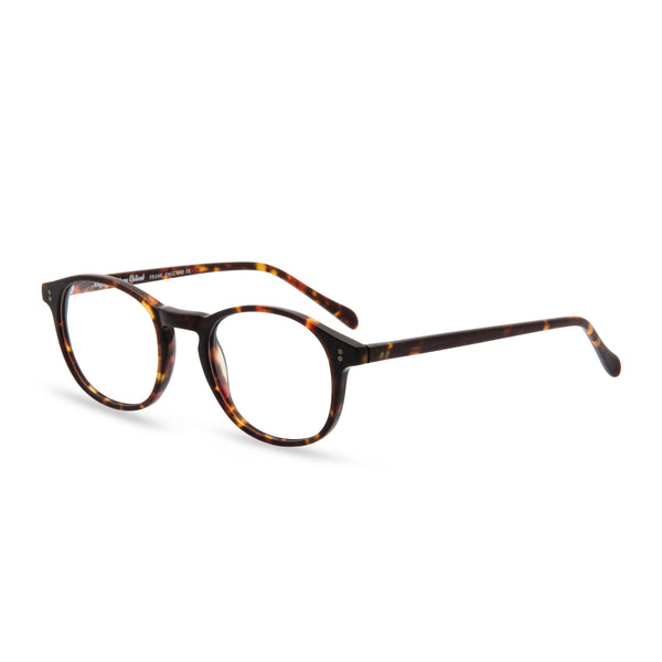 Ali Square Glasses - Matt Tortoise