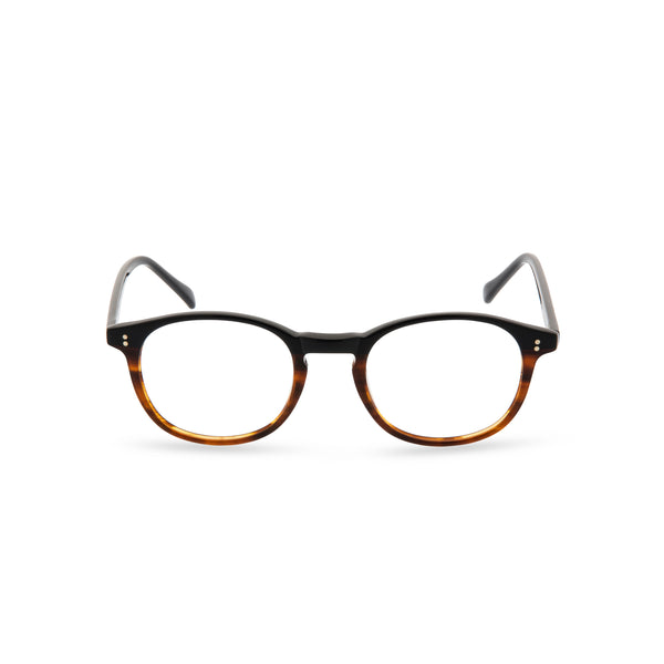 Ali Square Glasses - 2 Tone Brown
