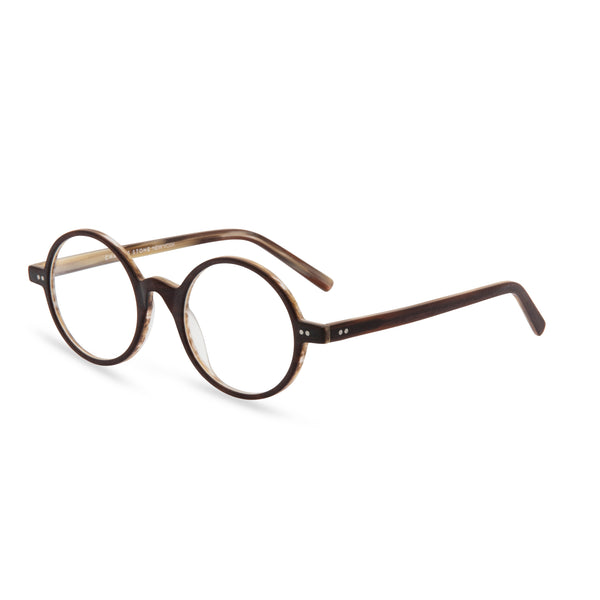 Alex Round Glasses - Matt Brown