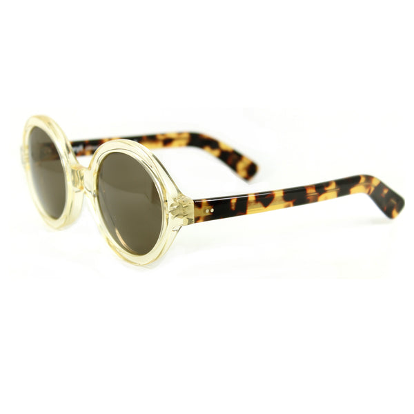 Andy Round Sunglasses - Crystal Tortoise
