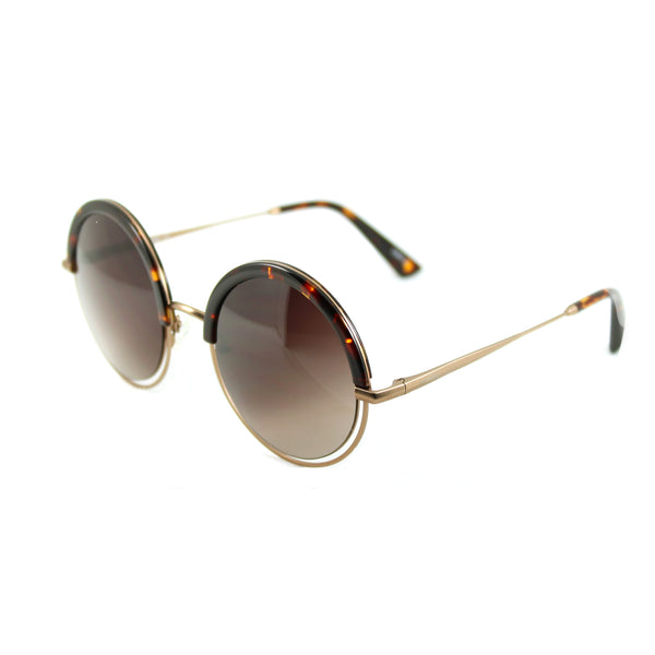 Andress - Sunglasses Cream Tortoiseshell / Purple Haze Lens