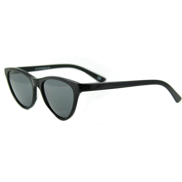 Audrey black sunglasses side
