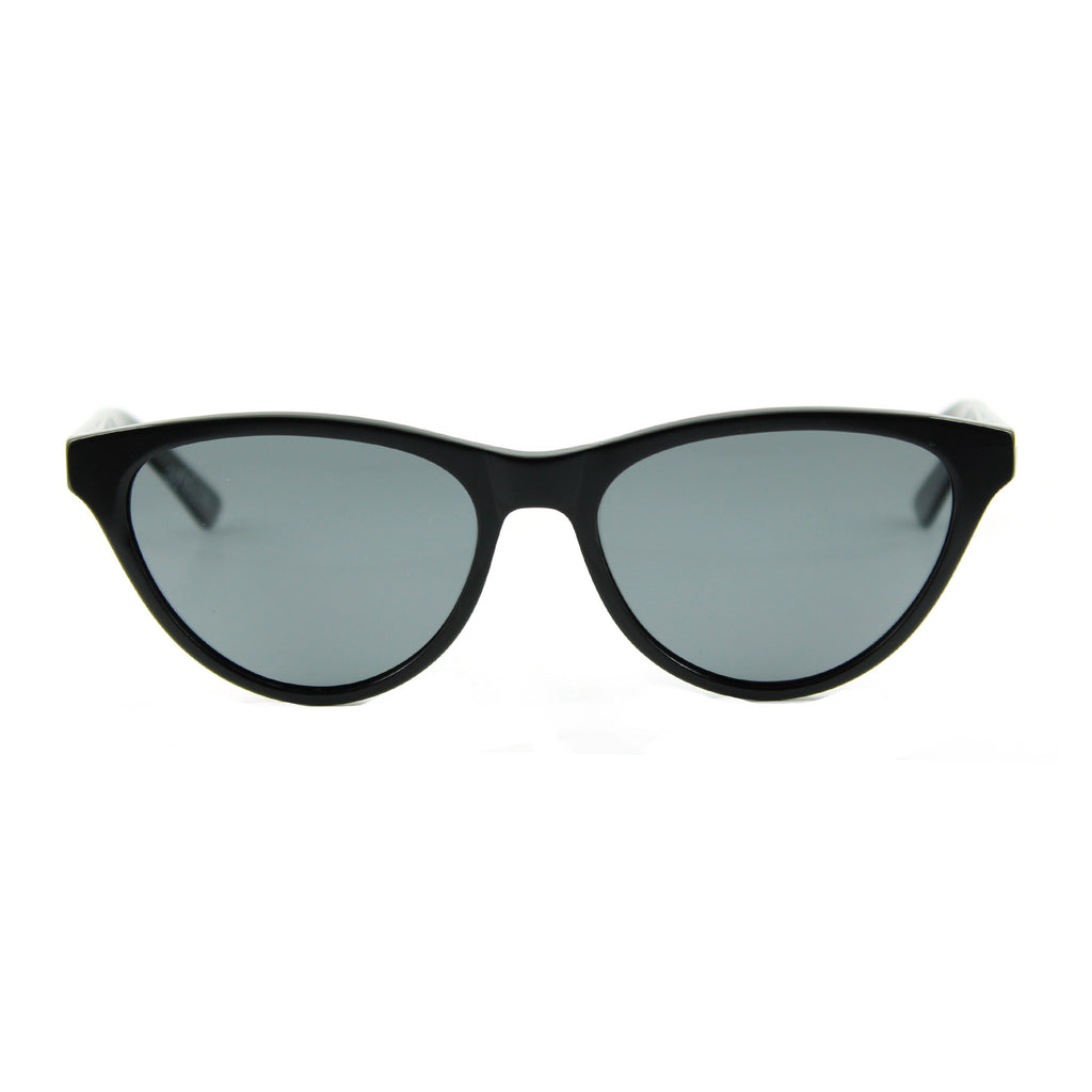 Audrey black sunglasses front