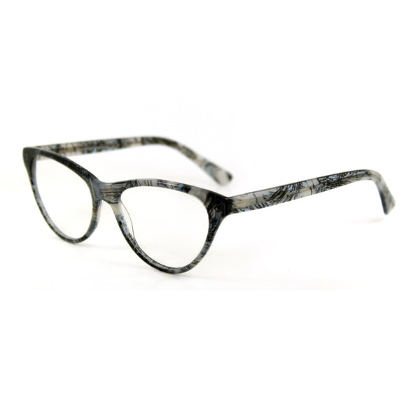 Audrey Cat Eye Glasses - Misty Storm